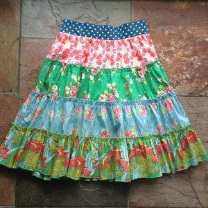 new MATILDA JANE tiered midi skirt 4 (G3)